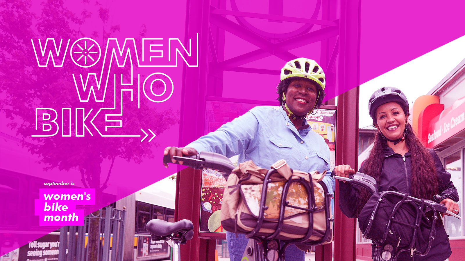 Women Bike Month Banner 2
