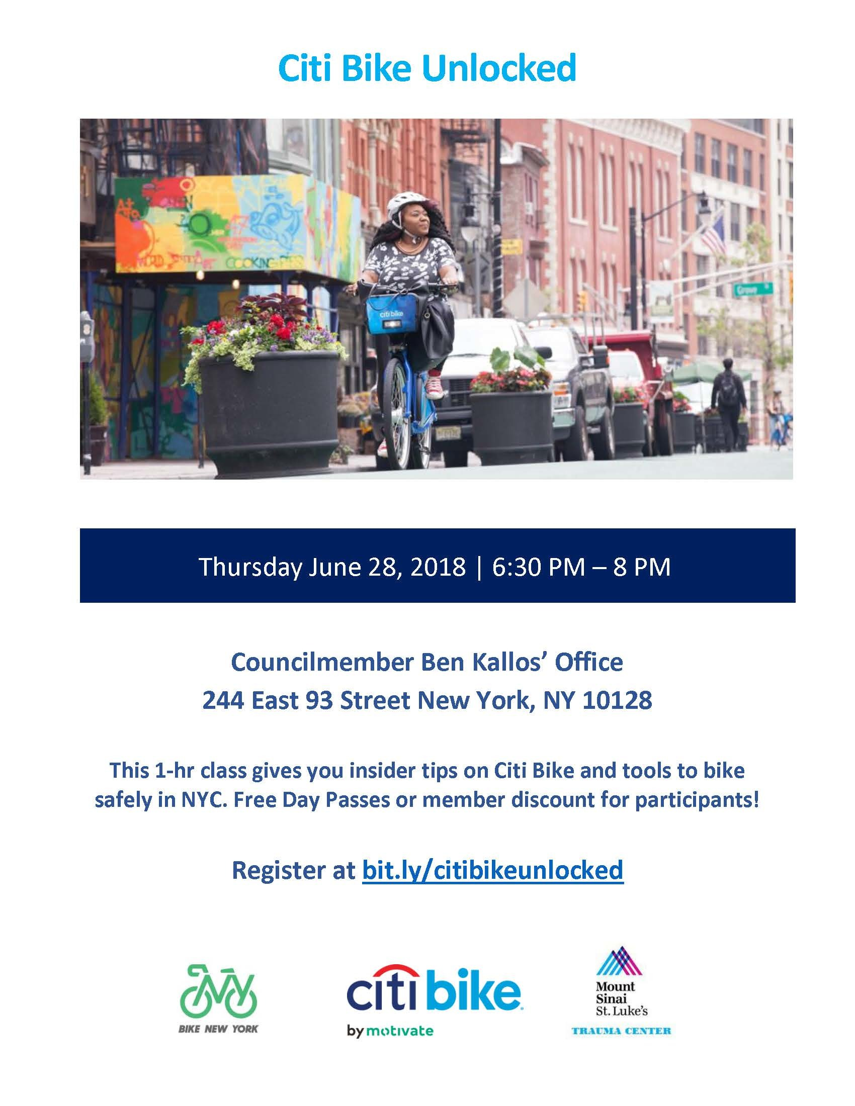 Citi Bike Unlocked | Citi Bike NYC