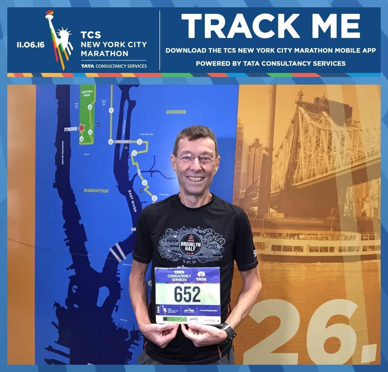 Paul Racine Nyc Marathon 2016