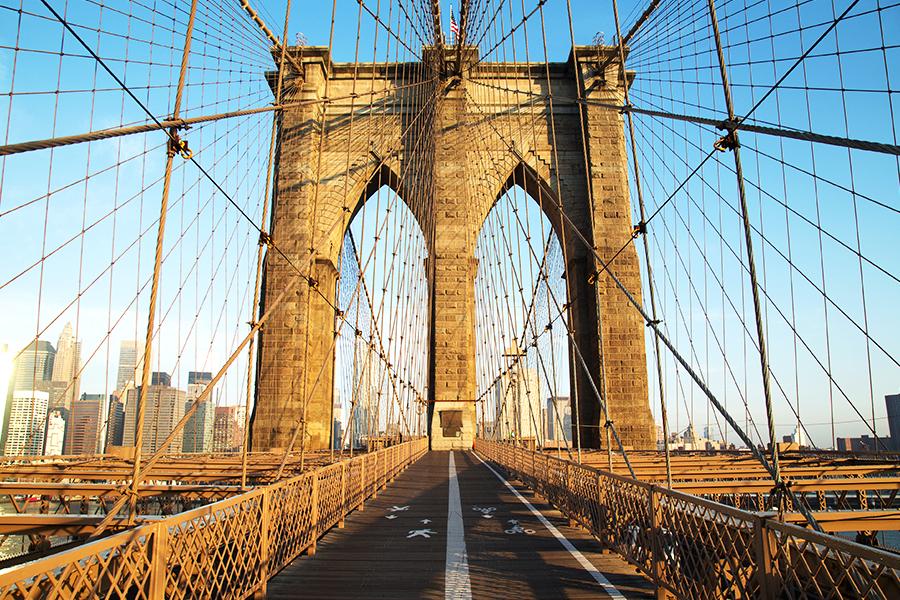 Brooklyn Bridge Citi Bike Nyc
