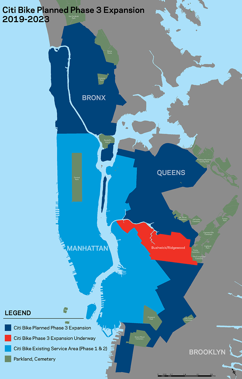 Major Citi Bike Expansion Map Revealed! | Citi Bike NYC on