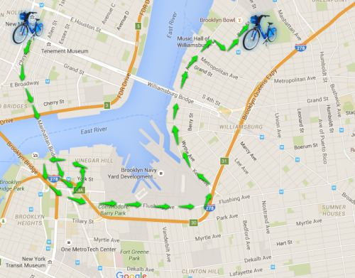 On The Waterfront: From Dumbo to Williamsburg | Citi Bike NYC Citi Bike New York Map on new york pedestrians, new york bike map, new york bike commuter, new york bike sharing,