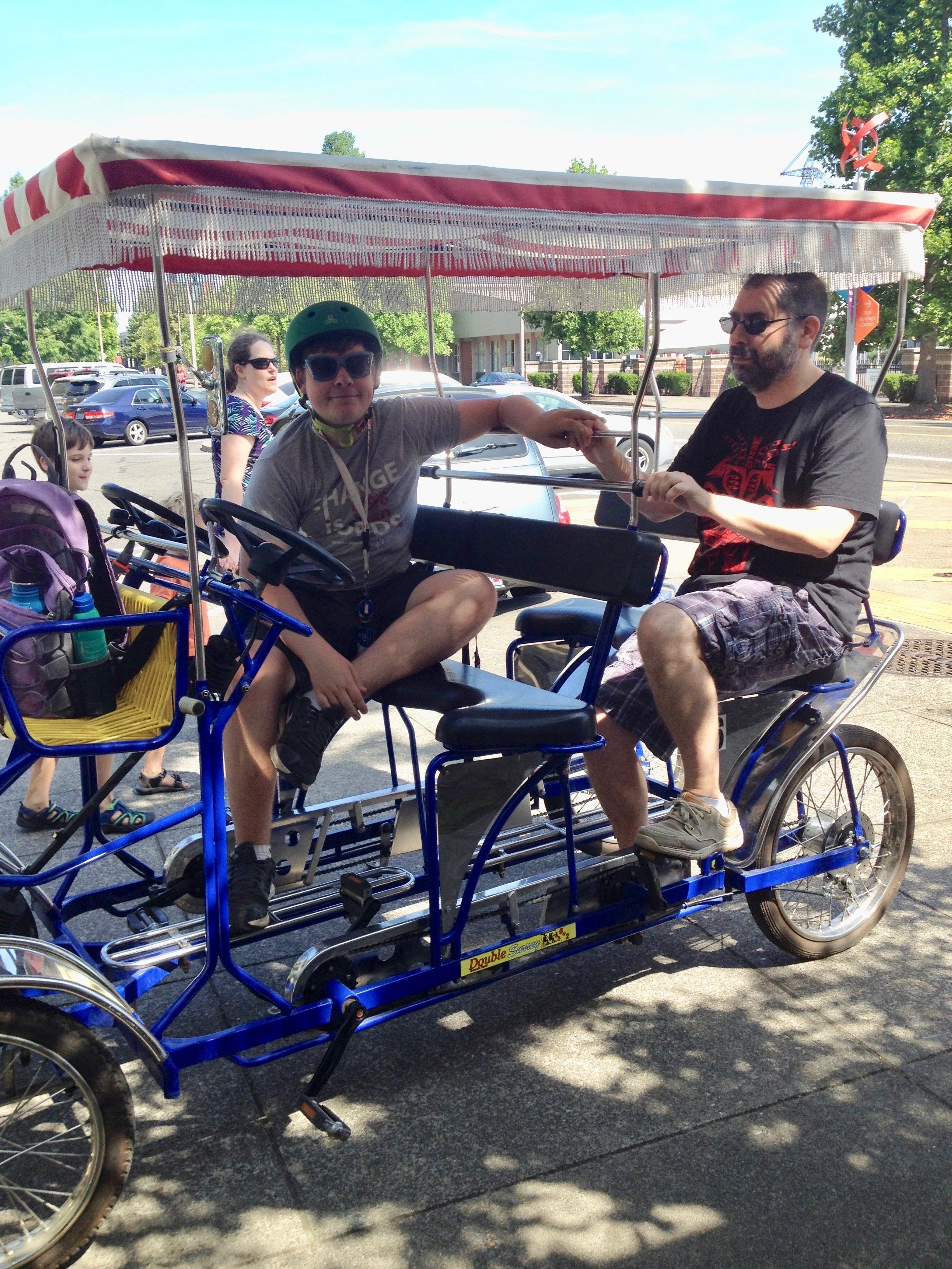 Firsts With Adaptive Biketown Biketown
