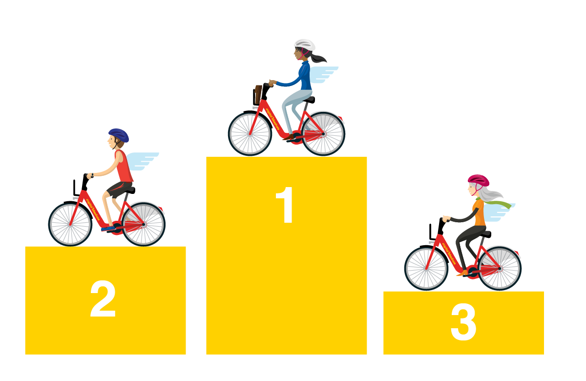 Ca Bi Bike Angels Podium Graphic