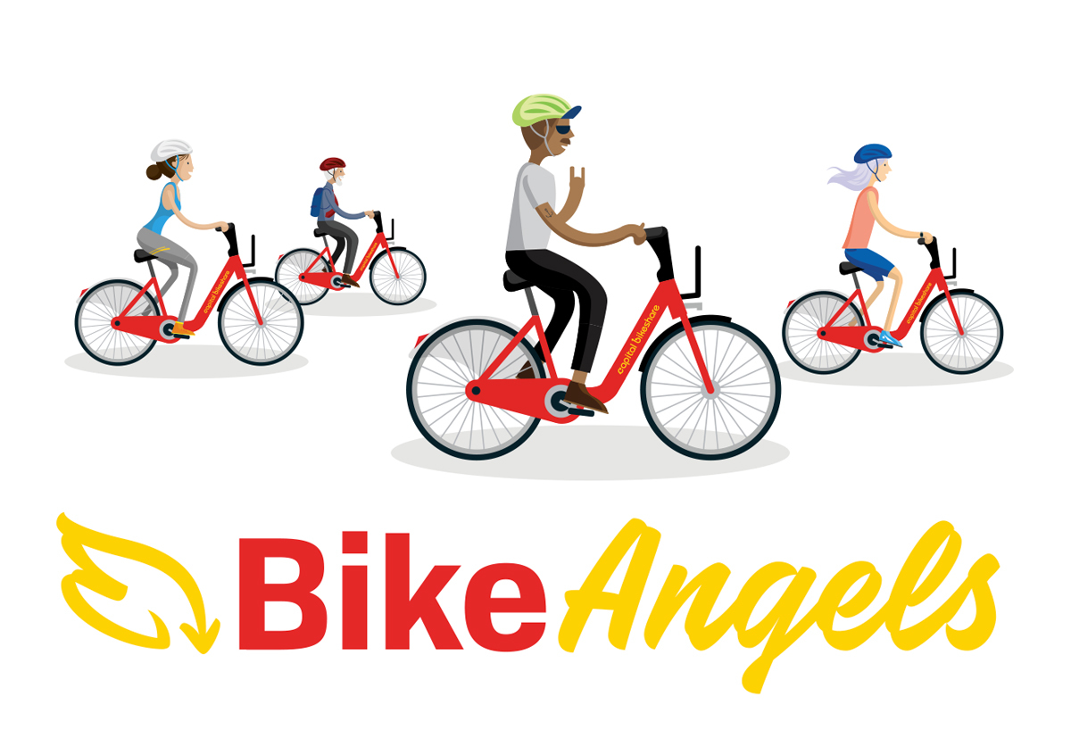 Cabi Bike Angels Header Graphic
